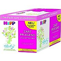 HiPP - Toallitas húmedas (12 paquetes de 56