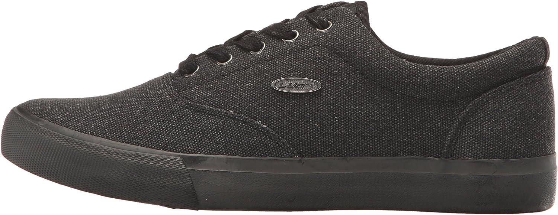 9 D US Black Lugz Mens Seabrook Fashion Sneaker