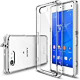 Xperia Z3 Compact Case - Ringke FUSION Case [Free HD Film/Dust&Drop Protection][CRYSTAL VIEW] Shock Absorption...