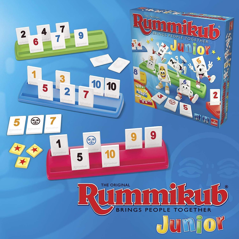 Goliath-50210 Rummikub Junior (50210): Amazon.es: Juguetes y juegos