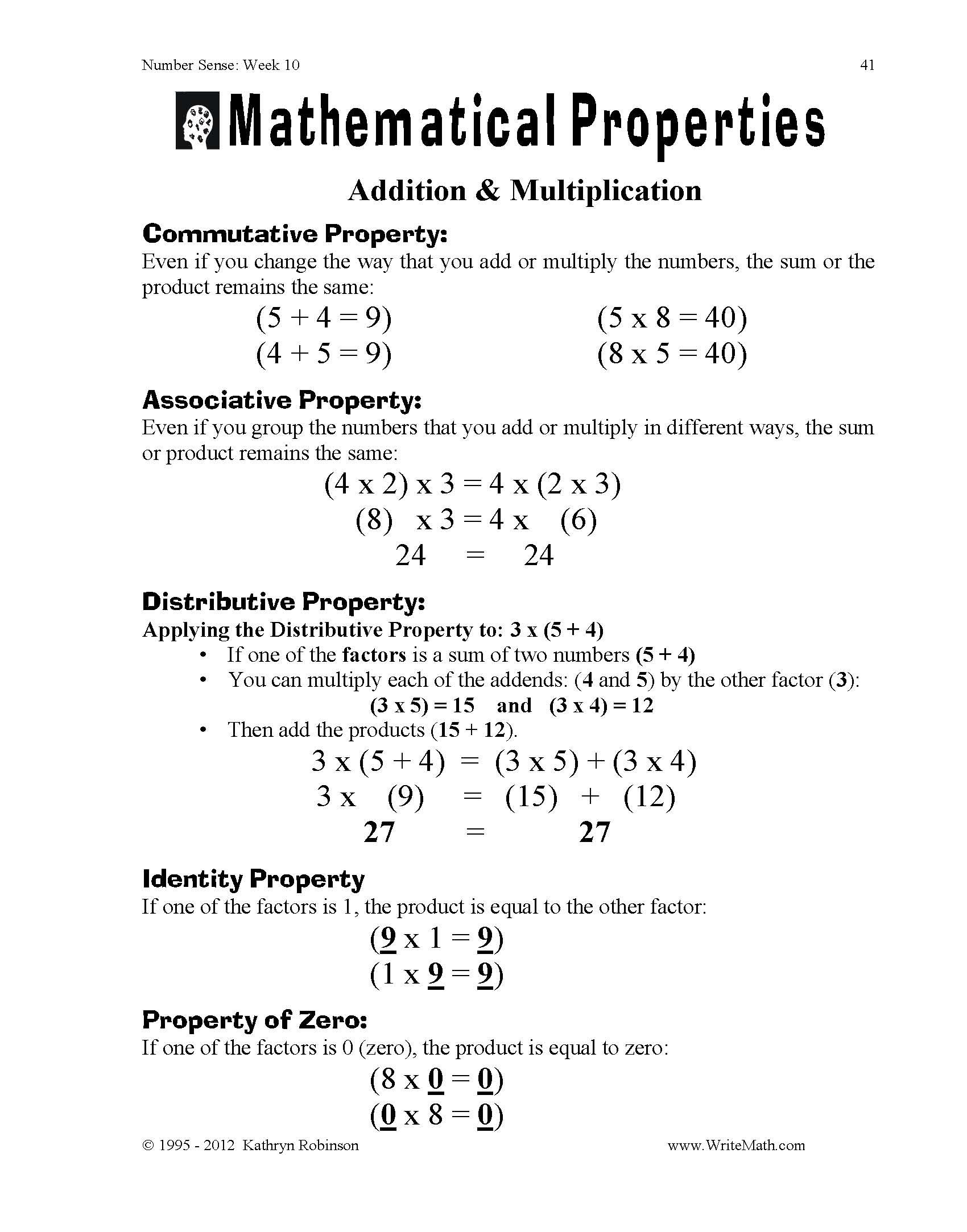 100 Associative Property Of Multiplication Worksheets – Associative Property of Multiplication Worksheet