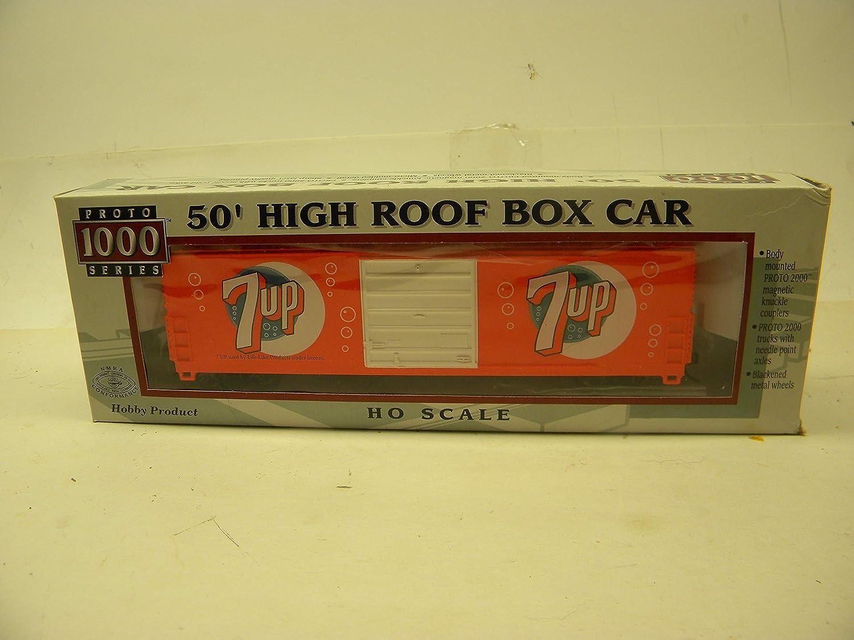 Proto 1000 HO 920-8653 Soda Pop シリーズ 7UP 50フィート ハイルーフボックス 車 B07H21VCK4