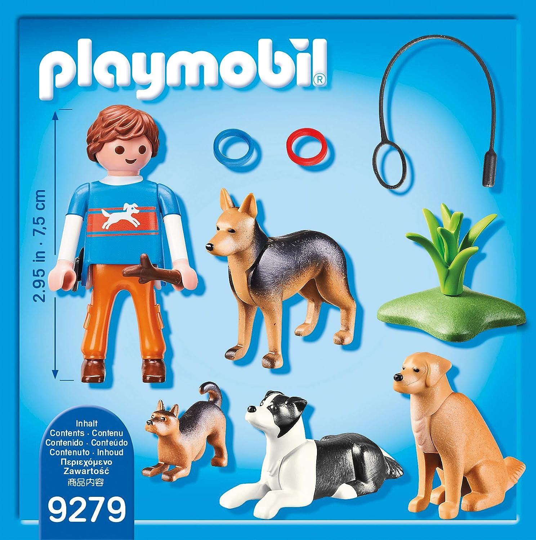 Playmobil Adiestrador de Perros Juguete geobra Brandstätter 9279: Amazon.es: Juguetes y juegos