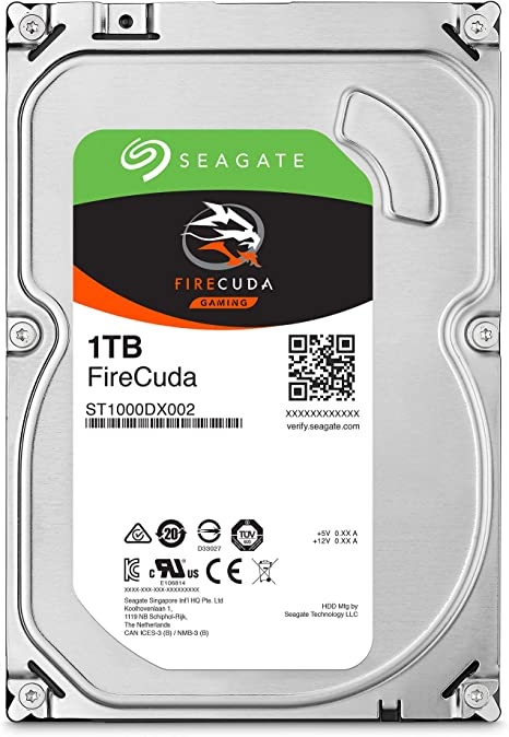 Seagate st1000dx002 HDD Fire CUDA SSHD Disco Duro 1000 GB: Amazon ...