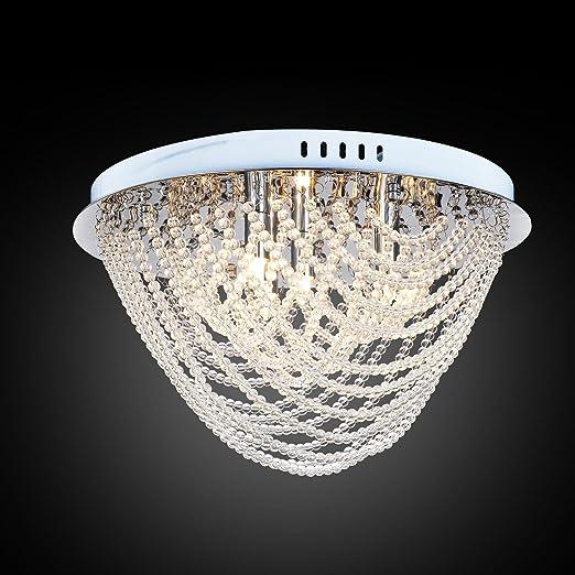 Lámpara de techo cristal moderna simple y elegante de G9*4 ...