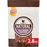 Oscar Mayer Natural Selects Ready to Serve Real Uncured Bacon Bits (6 ct Pack, 2.8 oz Bags)