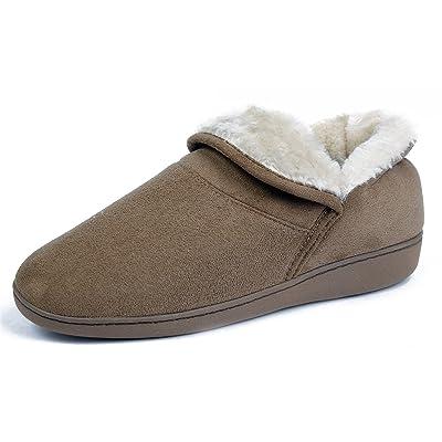 AgeeMi Shoes Femmes Chaussons Coton Flat Bottes de Neige
