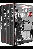 Devil's Knights MC: Books 1-4 (English Edition)