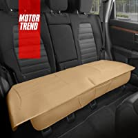 $32 » Motor Trend Beige Universal Car Seat Cushion, Rear Bench Seat – Padded Luxury Cover with…