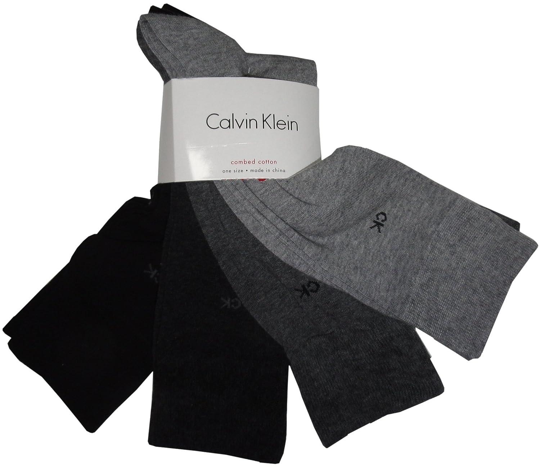Calvin Klein Men's Classic Dress Socks 4-Pack