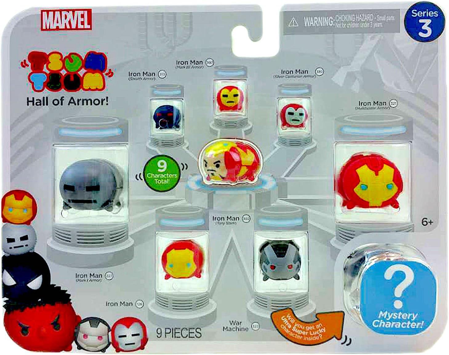 Hulk Marvel Tsum Tsum Series 3 Mystery Pack Disney Stackable Vinyl Figure