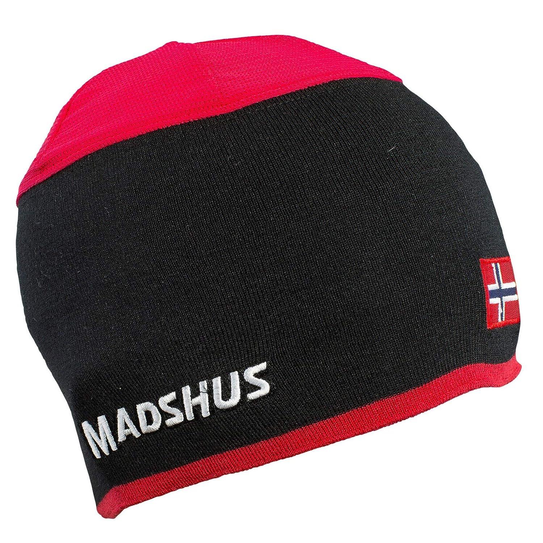 Madshus Mütze Vented Ski - rot - M - 18C4301.1.1.M