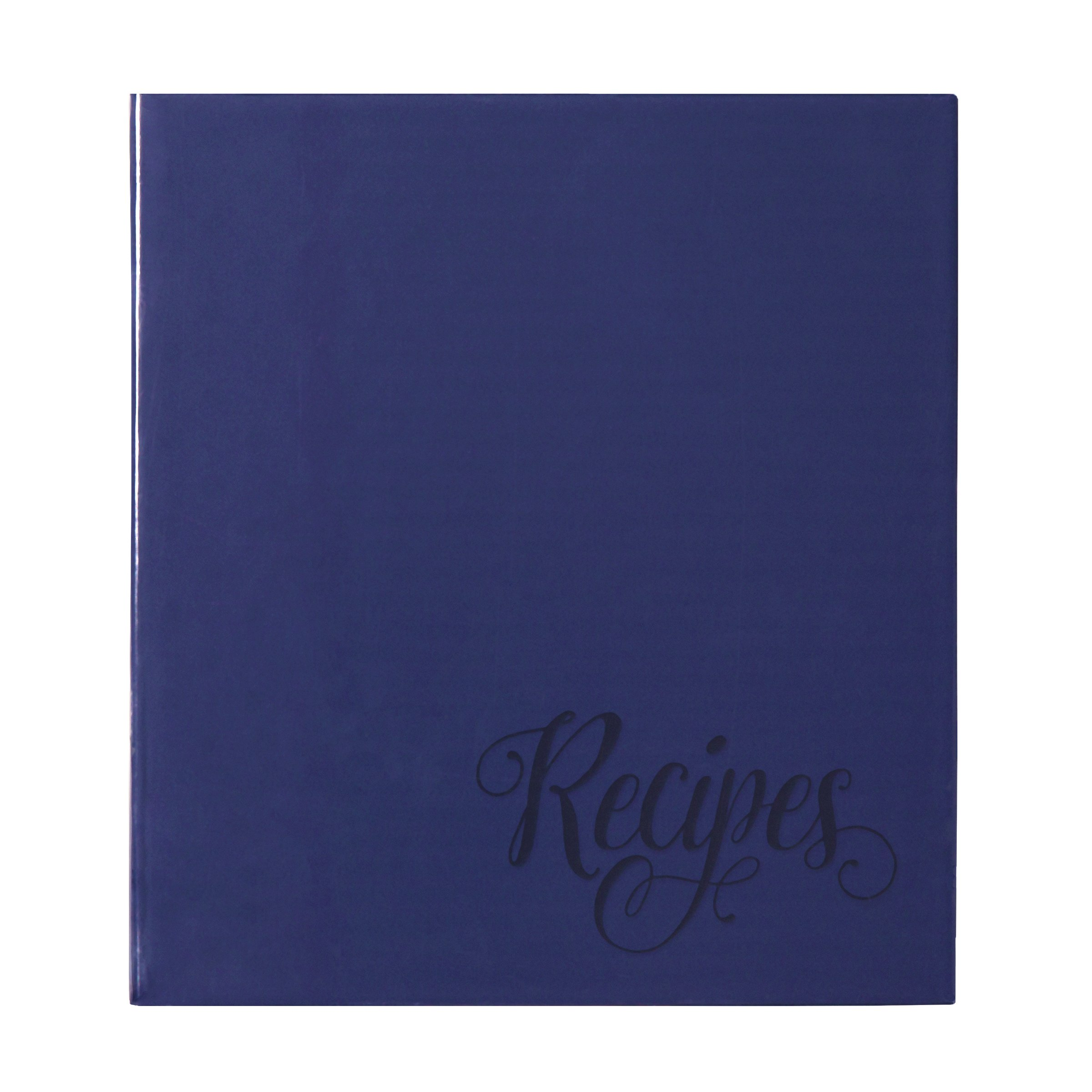 C.R. Gibson Recipe Book, Durable 3-Ring Binder, Holds 40 Recipe Cards Measuring 4'' x 6'', Book Measures 9'' x 9.5'' − Provence