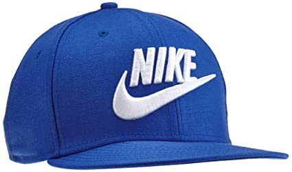 Nike Limitless True Gorra, Hombre, Azul Game Royal/Blanco, Talla Única