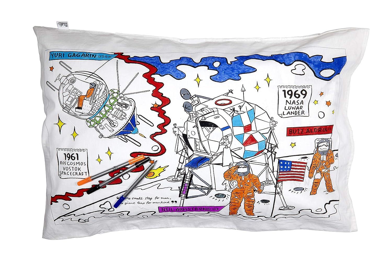 eatsleepdoodle Federa copricuscino Space Explorer
