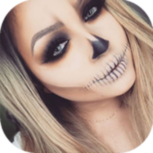 Halloween Makeup (Halloween Girls Hairstyles)