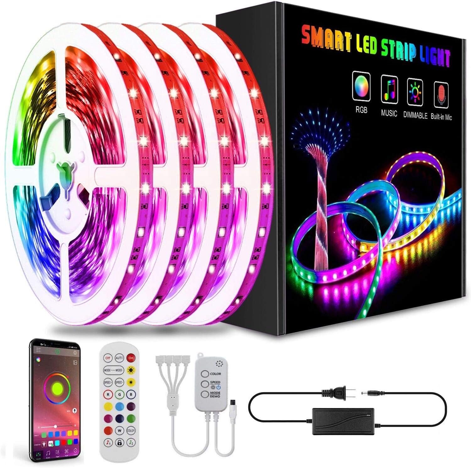Amazon - Get 25% Off Led Lights Smart Led Strip Lights Ultra Long