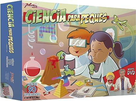 Mistral Enterprise - Set de Ciencia para peques (90 experimentos con DVD): Amazon.es: Juguetes y juegos
