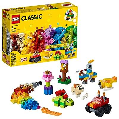 LEGO Classic Basic Brick Set 11002 Building Kit (300 Pieces): Toys & Games