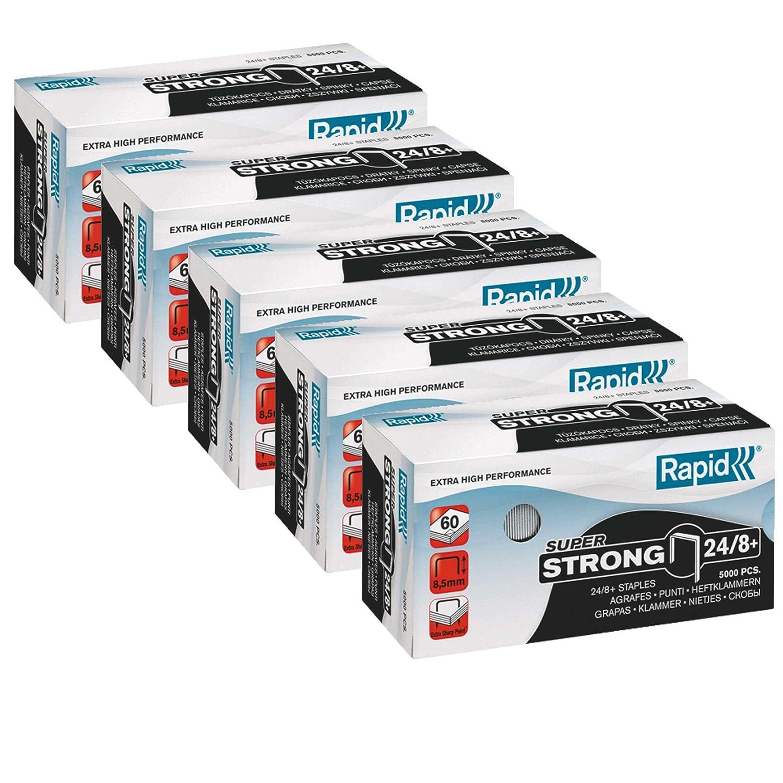 Rapid Heftklammer (24/6 mm Standard, verzinkt) 5000 Stück: Amazon.de ...