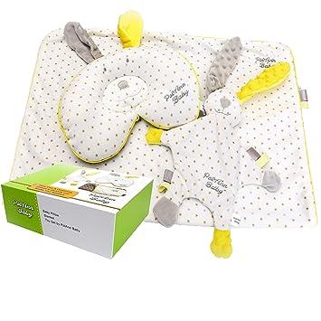 Amazon.com: Almohada para bebé, manta y juguete juego por ...