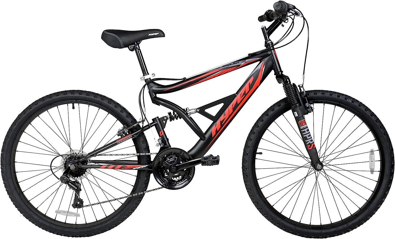 """Hyper Shocker 26"""" 18-Speed Men's Mountain Bike"""