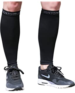 Calf Compression Sleeve - Leg Compression Socks for Shin Splint, Calf Pain Relief - Men