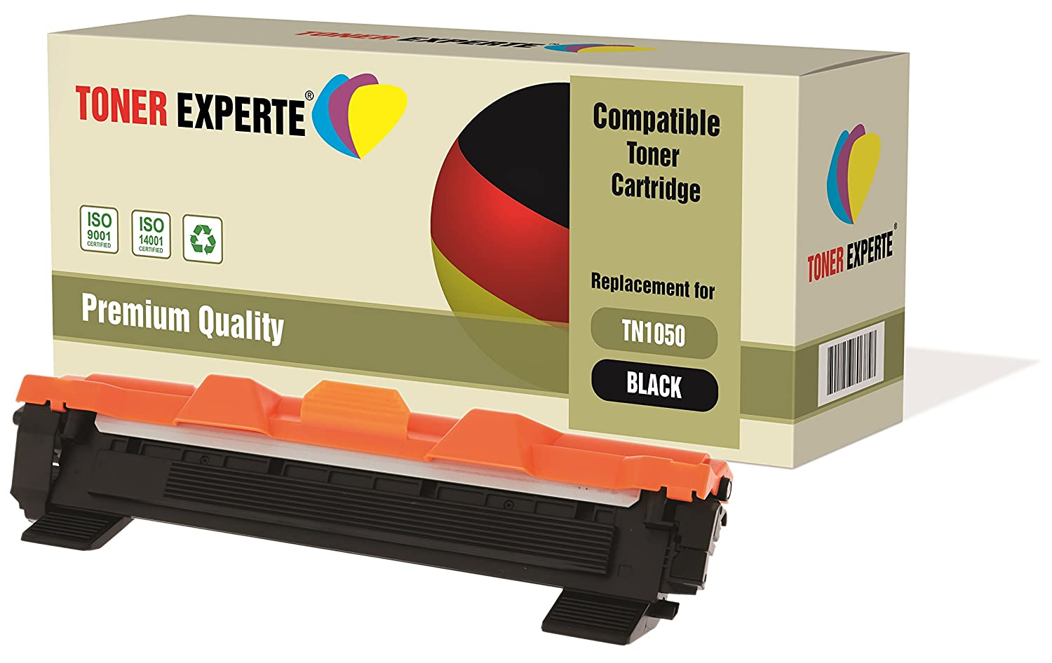 TONER EXPERTE® TN1050 Cartucho de Tóner Compatible para Brother HL ...