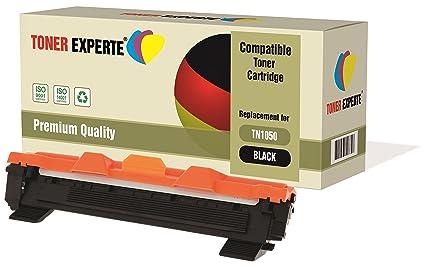 TONER EXPERTE® Compatible TN1050 Cartucho de Tóner Láser para ...