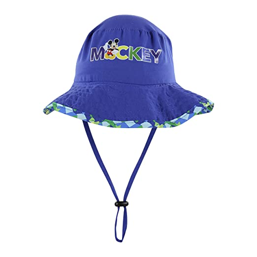 c0a6eff2b8d Amazon.com  Disney Minnie and Mickey Girls and Boys Sun Boonie Hat - 100%  Cotton  Clothing