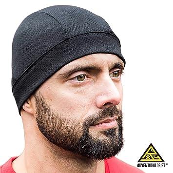 80ef3a143ab644 SKULL CAP [Black 2 Pack] , Best as a Helmet Liner, Great Thermal ...