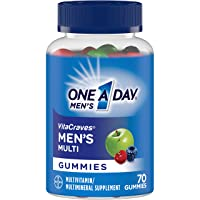 One A Day VitaCraves Men's Multi Gummies, 70 Count (Pack of 2)