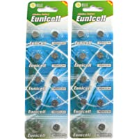 20 Eunicell AG3 / LR41 / 192/392 Button Cell Battery Long Shelf Life 0% Mercury (Expire Date Marked)