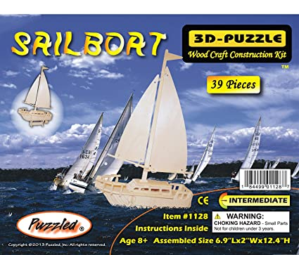 Amazon 3d Puzzles Sailboat Toys Games