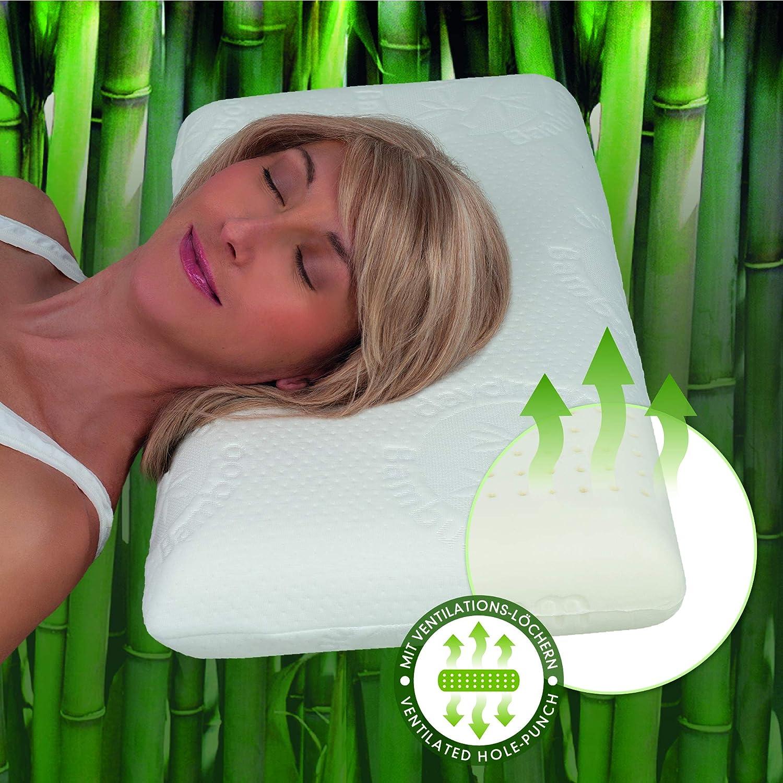 daydream Kopfkissen aus Natur-Latex mit Bambus-Bezug