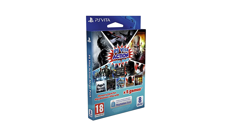 Sony - Mega Pack Action De 5 Juegos + Tarjeta De Memoria, 8 GB ...