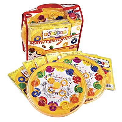 Learning Wrap-ups 2nd Grade Math Learning Palette 2 Base Center Kit: Toys & Games