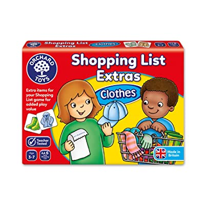 Shopping List Booster Pack - Clothes: Toys & Games