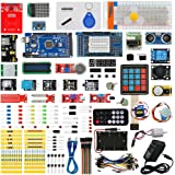 Arduino MEGA 2560 Ultimate Starter Kits with MEGA 2560 R3, Servo Motor,modules,sensors (Arduino MEGA 2560 kit)