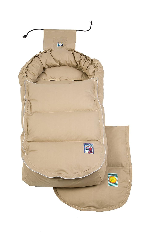 Aro Artländer 9201050 Daunenfußsack 4 Jahreszeiten Sand Baby