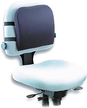 Kensington L82025f Memory Foam Backrest 14 1 4w X 1 3 4d X 13 1 4h Black Chair Support Cushions Office Products