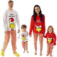The Grinch Christmas Pyjamas Family Matching Lounge PJ Sets