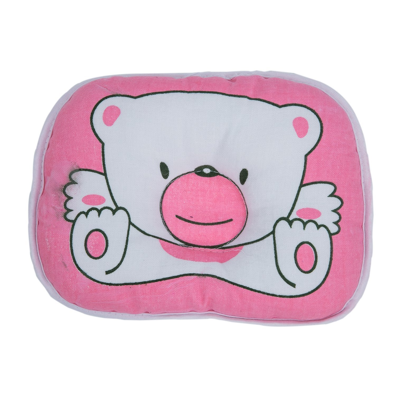 Homgaty Cute Bear Cotton Soft Newborn Baby Prevent Flat Head Pillow Support (Blue) SODIAL(R) KKTPY0791