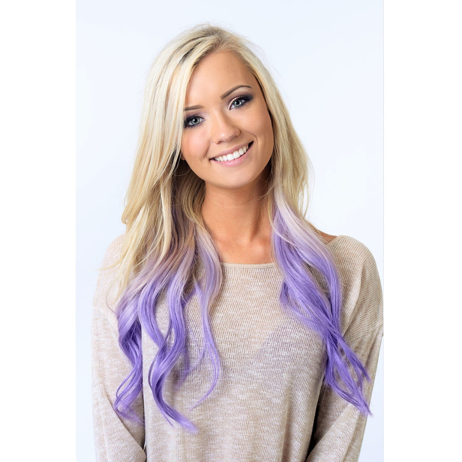 Amazon Purple Lavender Hair Chalk Edge Blendable Hair Color