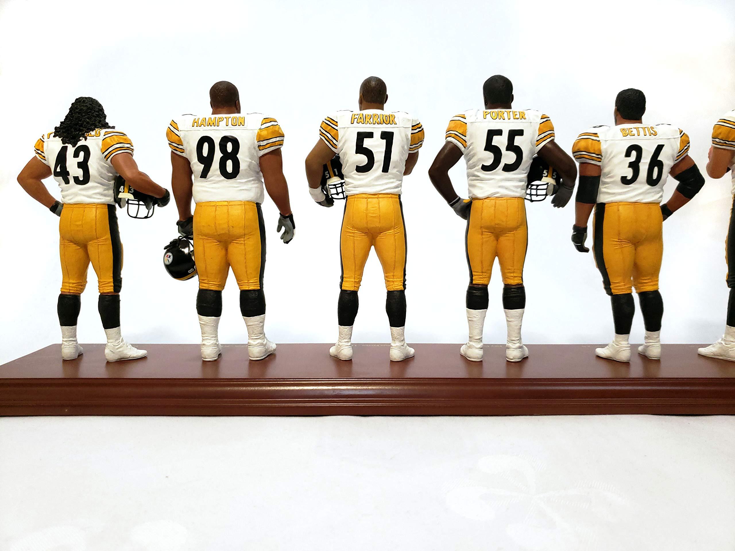 Pittsburgh Steelers Super Bowl XL Champions Danbury Mint Statue Figurine w/COA