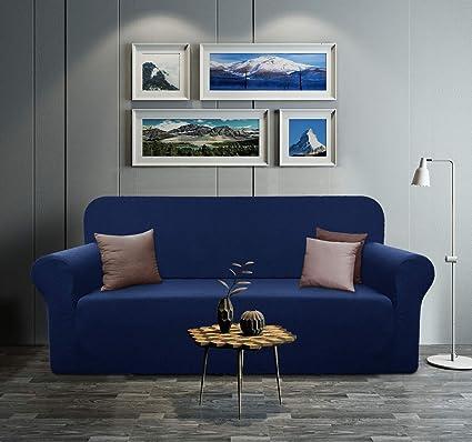 Amazon.com: YUUHUM Fundas de sofá a rayas, fundas de sofá ...