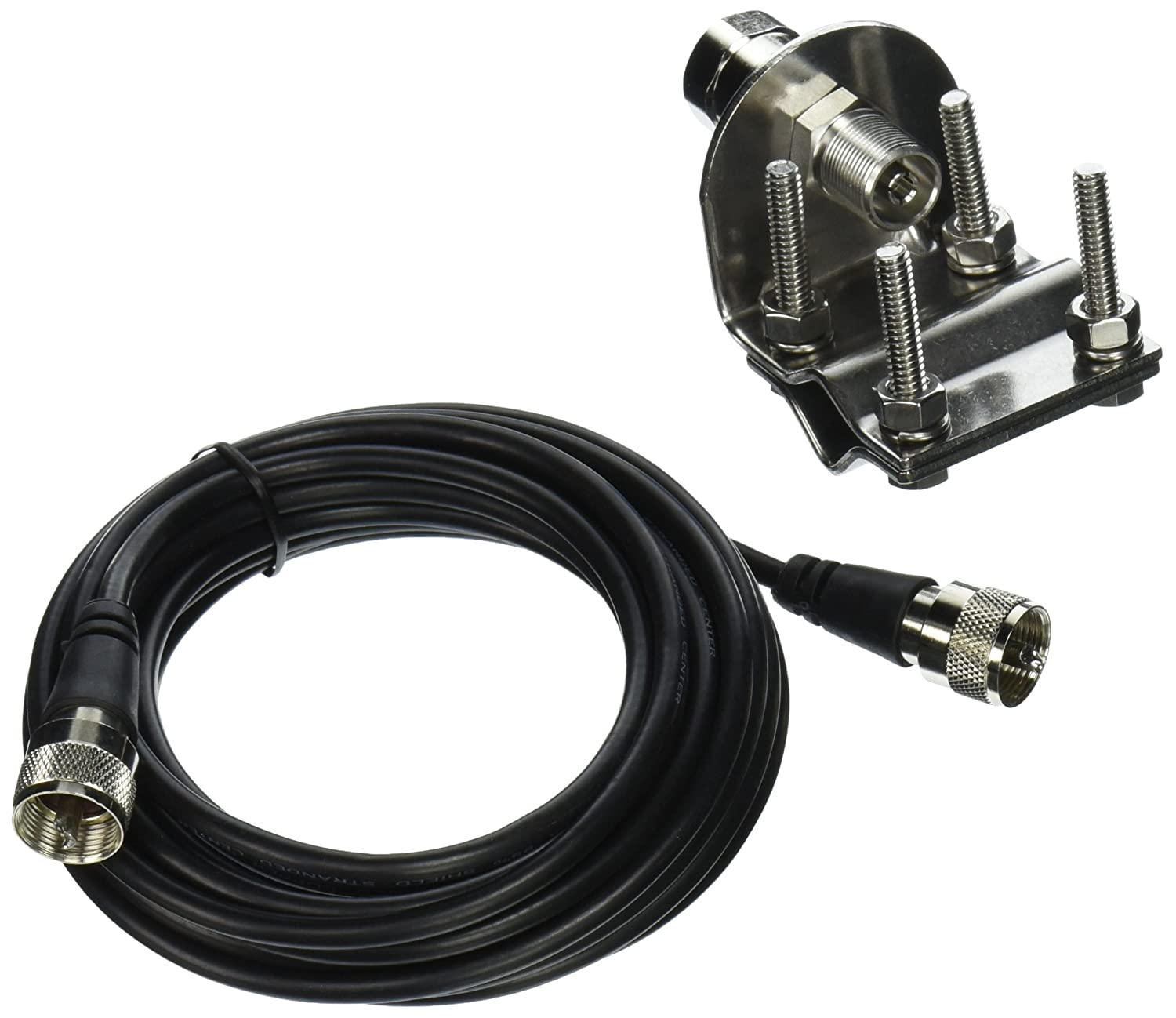 BROWNING BR-MM-18 Mirror-Mount Kit with CB Antenna Coaxial Cable Free ship