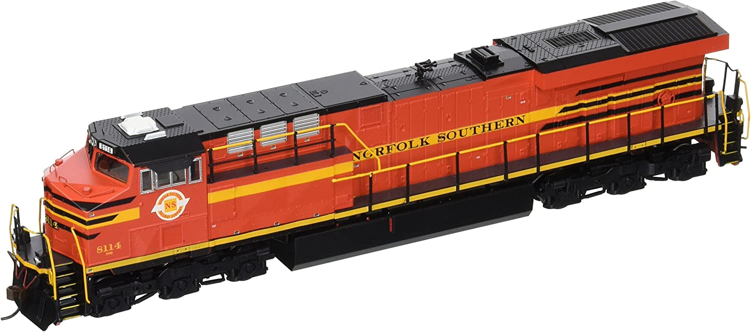 Bachmann GE ES44AC DCC Sound Value Equipped Diesel Locomotive - NORFOLK SOUTHERN RAILWAY #8114 (with operating ditch lights)- HO Scale