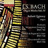 Johann Sebastian Bach: Organ Works, Vol. IV [Robert Quinney] [Coro: COR16157]