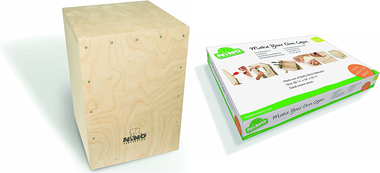 Nino Percussion NINO951-MYO Make Your Own Cajon - Set para montaje de cajón